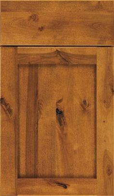 Harrison Cabinet Door Style - rustic birch Aristokraft
