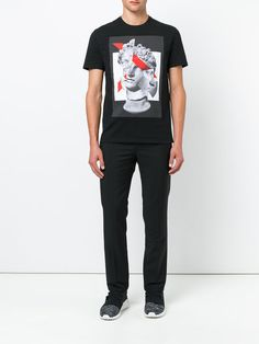 Neil Barrett Michelangelo David print T-shirt