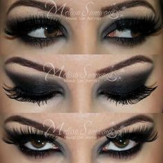 Smokey Eye Demi Lovato Heart Attack