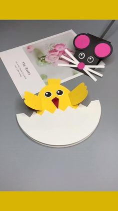 Paper Crafts For Kids, Preschool Crafts, Diy Crafts, Farm Activities, Family Crafts, Creative Kids, Emoticon, Fun Projects, Cute Drawings