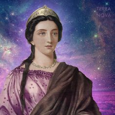 I AM Lady Portia - Goddess of Justice. Twin flame of St Germain and Goddess of the violet ray. #spiritual #goddess #higherself #love #light #heart #divine #human #creator #angel #cosmic #iam #terra #nova #earth www.terranovaearth.com