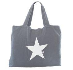 Strandtasche aus Frottee mit Stern - BYRH Beach Bags