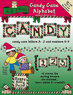 Make all of your holiday projects irresistibly SWEET with DJ's NEW 'Candy Cane Alphabet!' This collection is perfect for Christmas cards, headlining the family newsletter this season, scrapbook pages, holiday party name plates, gift tags & MORE!  Go to product: http://www.djinkers.com/candycane_abc.html