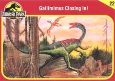 Jurassic Park Trading Cards Jurassic Park Trilogy, Jurassic Park Toys, Jurassic Park 1993, Jurassic World, The Lost World, Prehistoric Creatures, Parking Design, Back In The Day, Science Fiction