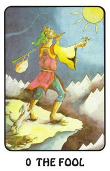 April 1 Tarot Card: The Fool! (Karma Tarot deck): Let go of your expectations and trust your instincts