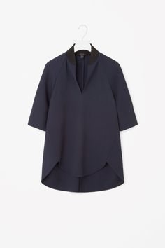 COS image 4 of Seam detailed top in Navy