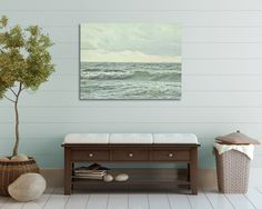 Ocean Photography Large Wall Art Canvas by PureNaturePhotos