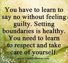 say no without guilt | Being unable to say no can make you exhausted, stressed and irritable ...
