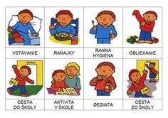 moj den Sequencing Pictures, Kindergarten, Corporate Portrait, Busy Bags, Preschool Worksheets, Fine Motor Skills, Dna, Montessori, Homeschool
