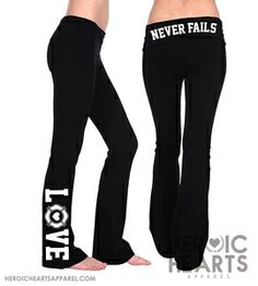 Firefighter LOVE Yoga Pants