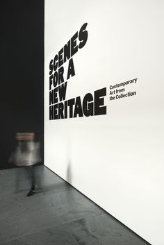 Scenes For A New Heritage - The Department of Advertising and Graphic Design Museum Exhibition Design, Design Museum, Exhibition Display, Environmental Graphic Design, Environmental Graphics, Wall Design, Design Art, Display Design, Interior Design