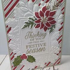 Chrismas Cards, Stampin Up Christmas, Xmas Cards, Holiday Cards, Homemade Christmas Cards, Christmas Cards To Make, Homemade Cards, Christmas Hanukkah, Christmas Minis