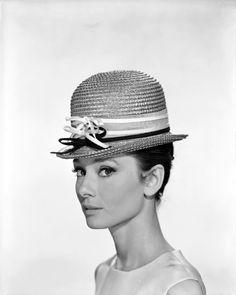 Audrey Hepburn photographed by Bud Fraker, 1961.