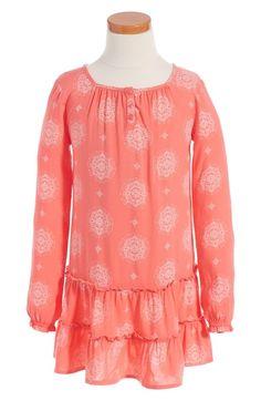 Tucker + Tate Ruffle Hem Dress (Toddler Girls, Little Girls & Big Girls) available at #Nordstrom