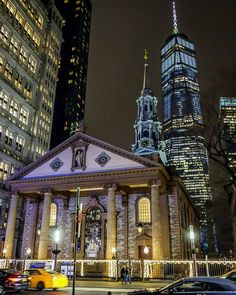 Lower Manhattan by @chandlelee
