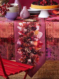 Apelt Tafellinnen met herfstmotief