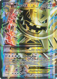 M Steelix EX 109/114 FULL ART - Cards Outlet has FREE SHIPPING on Single Card Orders Over $14.99