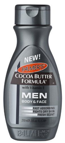 Palmer's Cocoa Butter Formula Men's Lotion for Body & Face 250ml - http://best-anti-aging-products.co.uk/product/palmers-cocoa-butter-formula-mens-lotion-for-body-face-250ml/