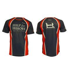 Technical running shirt by Scimitar Sports.  running  charity  tshirt  Custom Sportswear 842349195