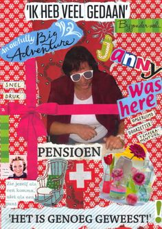 pensioen Going Away Parties, Carrie Fisher, Princess Leia, School Projects, Just In Case, Thankful, Collage, Creative, Cards