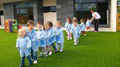 SantiagoeComarca: Teo - simulacro nas escolas infantís (fotos no interior)  Junio 2012