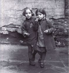 "Roman Vishniac     Young Jewish Girls, Warsaw      1935    ""These are the faces of children I embraced and kissed and loved. I cannot imagine that they are dead, that none would survive… A million and a half children among the six million… But this I knew… I wanted to save their faces, not their ashes."" Roman Vishniac"