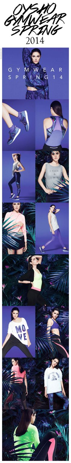 Oysho Gymwear Spring 2014 | The House of Beccaria~