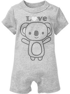 Koala-Graphic One-Pieces for Baby | Old Navy