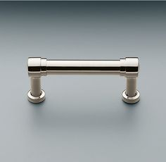 """Grafton Metal Pull   Pulls   Restoration Hardware Available in polished nickel - 3"""", 4"""", 6"""" or 8"""""""