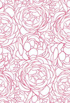 Beautiful seamless pattern with pink roses. Download it at freepik.com! #Freepik #vector #pink #wallpaper #background #homescreen Flower Background Design, Floral Print Background, Art Background, Watercolor Background, Background Patterns, Mandala Pattern, Mandala Design, Abstract Pattern, Pink Wallpaper Backgrounds