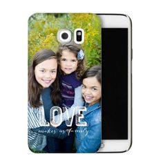 Love Makes Family Samsung Galaxy Case, Slim case, Glossy, Samsung Galaxy S6, DynamicColor