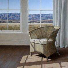 Parnell Gallery artist Neil Driver Cane Chair http://www.parnellgallery.co.nz/artworks/artist-neil-driver/cane-chair/