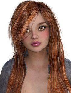 Woman, Hair, Red Hair, Head, Face