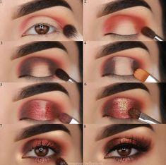 Tutorial Augen Make-up - Prom Makeup Black Girl Eye Makeup Tips, Makeup Goals, Makeup Hacks, Makeup Inspo, Makeup Inspiration, Beauty Makeup, Makeup Eyeshadow, Makeup Ideas, Makeup Products