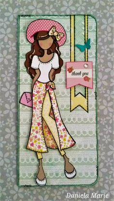 Taylor doll card ♥ By Daniela Alvarado.