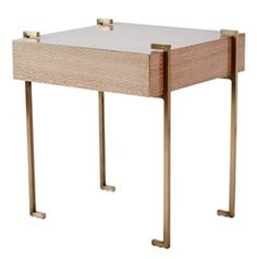 Artemis Side Table   Contemporary, Transitional, Metal, Lacquer, Wood, Table by Kimberly Denman