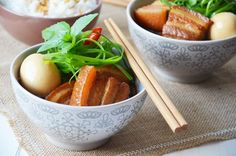 Kublanka vaří doma - Vietnamský karamelizovaný bůček
