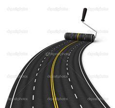 Construction Images, Road Construction, Asphalt Pavement, Dodge Charger, Art Ideas, Logo, Google Search, Craft, Business