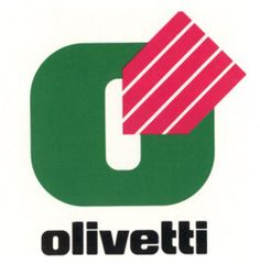 Marchio disegnato da Giovanni Ferioli nel 1983 per i negozi concessionari Olivetti.
