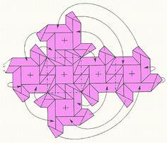 Regeling Origami - Modular origami (kubus van de draaitafels)