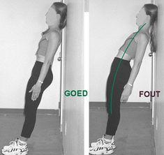 Een dergelijke houdingsbeeld kan naast pijn in de nek en arm Stretching, Pilates, Beauty Hacks, Health Fitness, Training, Yoga, Gym, Tips, Sports