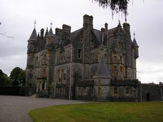 Blarney House is a Scottish baronial-style mansion that was built on the grounds of Blarney Castle, Ireland, in 1874.