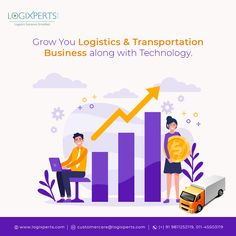 Logixperts provides Transport Management Software with Logistics ERP Software and accelerate the goods transportation management system with patented real-time tracking, and analytics dashboards. Analytics Dashboard, Cloud Based, Growing Your Business, Transportation, Software, Management, Clouds, India, Technology