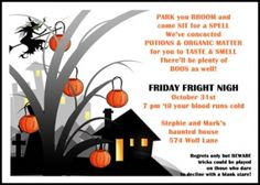 Printable halloween party treats invites where you can add a photo printable halloween party treats invites where you can add a photo only at holiday invitations gigantic saving on all invites with free sh stopboris Image collections