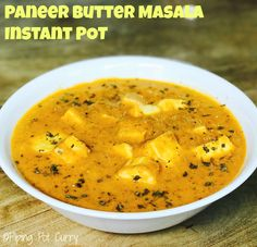 Chunks of paneer or cottage cheese cooked in a mildly spiced onion tomato gravy. Paneer Butter Masala made in Instant Pot or Pressure Cooker.