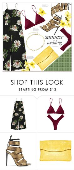 """""""Summer weddings"""" by mycherryblossom ❤ liked on Polyvore featuring Tom Ford and Nancy Gonzalez"""