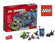 New LEGO 10724 Juniors Batman and Superman V Lex Luthor Construction Set 164 Pcs #LEGO