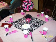 You are a Unique Treasure!   Hot pink and zebra inspired   RS Birthday Party