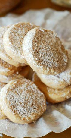 Hazelnut shortbread cookies.