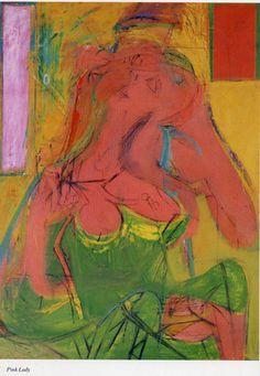 Willem de Kooning (1904-1997) Willem en Elaine de Kooning zijn altijd getrouwd gebleven, maar hebben feitelijk maar enkele jaren samengewoond. Elaine trok daarop haar eigen plan, maar bleef Willem hartstochtelijk promoten als een groot kunstenaar. Ze was kunstcritica en had banden met vooraanstaande kunstcritici. Het leven van Willem de Kooning kenmerkte zich door vele vriendinnen en samen met Joan Ward kreeg hij een dochter die Lisa heette.